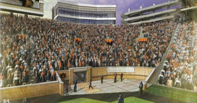 Auburn Unveils Jordan-Hare South Endzone Upgrades & Recruiting Area Renderings
