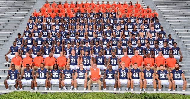 The 2017 Auburn Football Team Picture