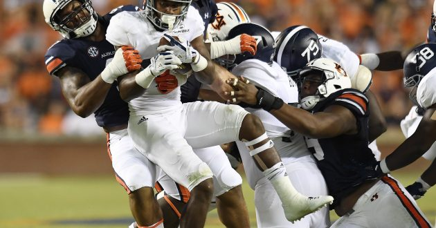 Highlights of Auburn's 41-7 Win Over Georgia Southern