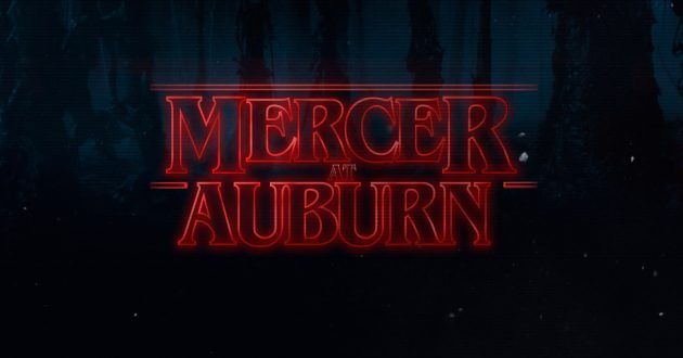 Stranger Things: Mercer at Auburn