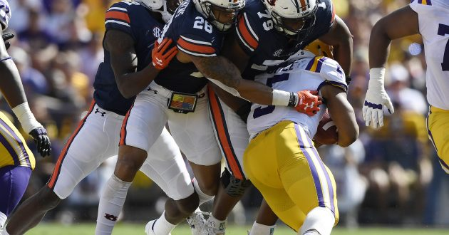 Highlights of Auburn's 27-23 Loss to LSU