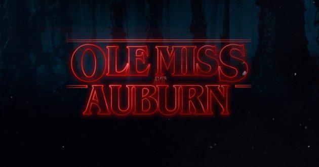 Stranger Things: Ole Miss at Auburn