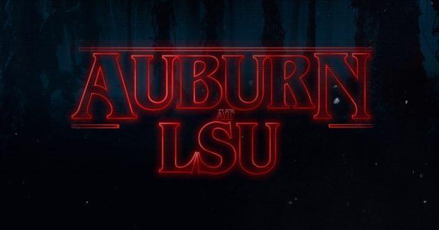 Stranger Things: Auburn at LSU