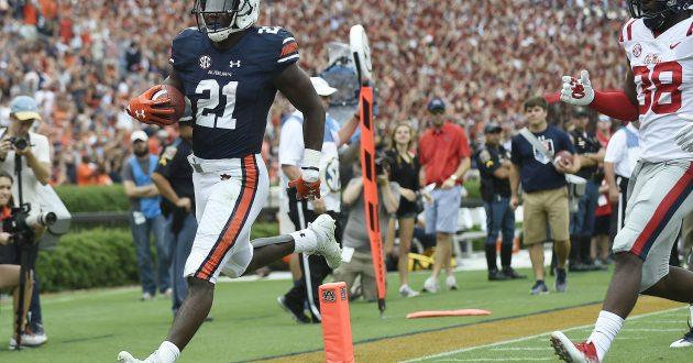 Highlights of Auburn's 44-23 Win Over Ole Miss