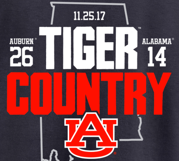 The 2017 Iron Bowl Score Shirt Is Here