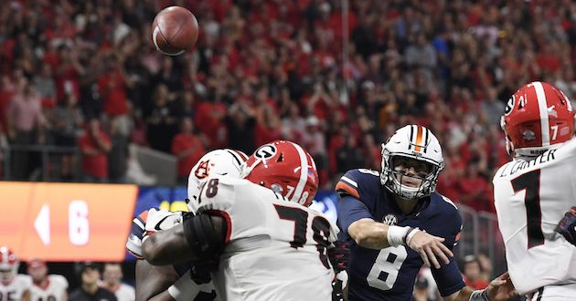 Highlights of Auburn's 28-17 Loss to Georgia