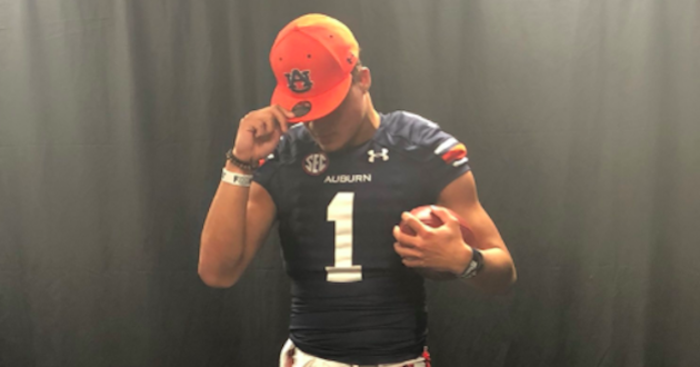 Auburn's 2018 Football Early Signing Class