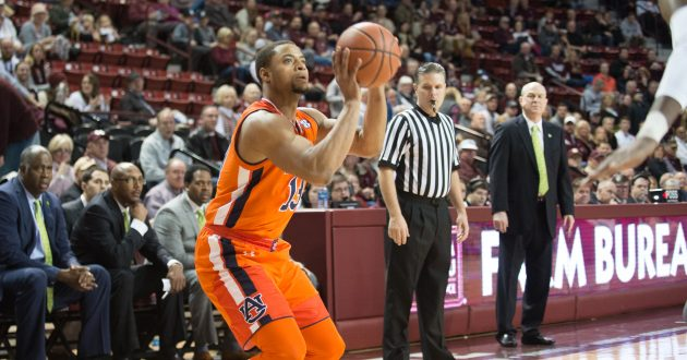 Highlights of Auburn's 76-68 Win Over Miss. State