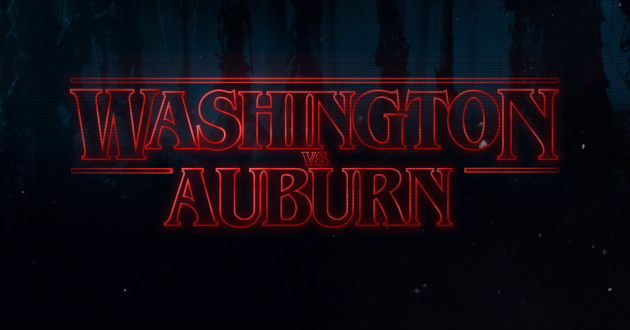 Stranger Things: Washington vs. Auburn