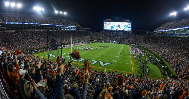 Auburn's 2019 Football Schedule Released