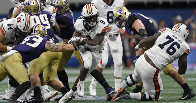 Highlights of Auburn's 21-16 Win Over Washington