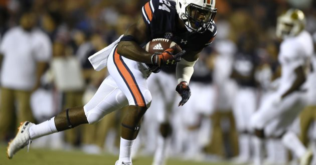 Highlights of Auburn's 63-9 Win Over Alabama St.