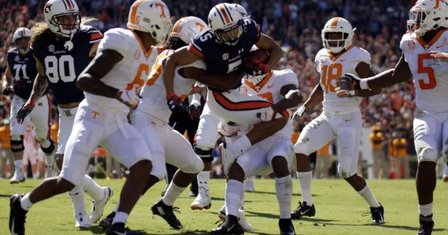 Highlights of Auburn's 30-24 Loss to Tennessee