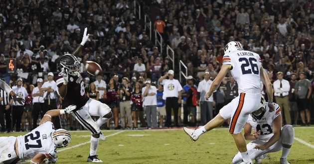 Highlights of Auburn's 23-9 Loss at Mississippi St.
