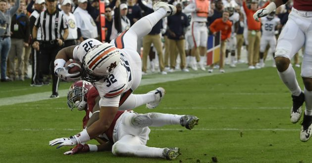 Highlights of Auburn's 52-21 Loss to Alabama
