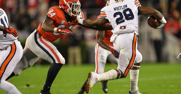 Highlights of Auburn's 27-10 Loss at Georgia