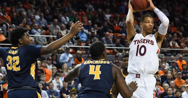 Highlights of Auburn's 93-88 Win Over Murray State