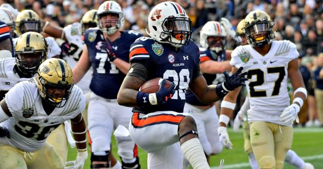 Highlights of Auburn's 63-14 Win Over Purdue