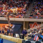 Auburn Gymnastics Upsets #4 LSU