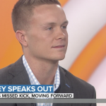 Cody Parkey Discusses Missed FG on Today Show