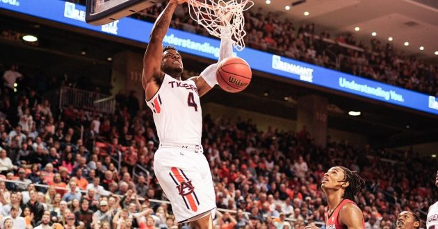 Highlights of Auburn's 93-78 Win Over Georgia
