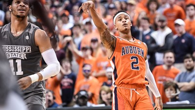 Highlights of Auburn's 80-75 Win Over Mississippi St.