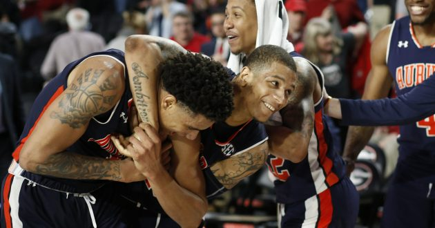 Highlights of Auburn's 78-75 Win Over Georgia