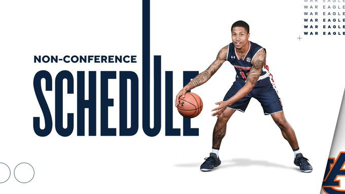 Auburn Basketball S 2019 20 Non Conference Schedule