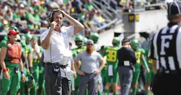 From the Other Sideline - Oregon