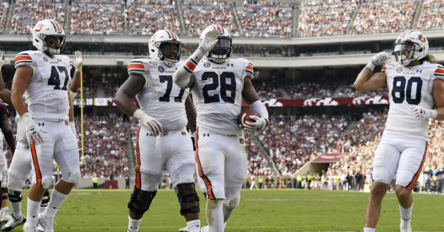 Highlights of Auburn's 28-20 Win Over Texas A&M