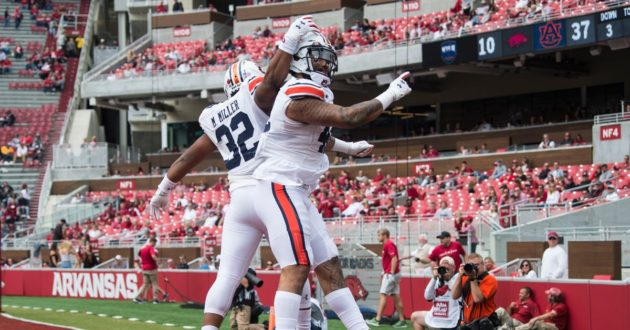 Highlights of Auburn 51-10 Win Over Arkansas