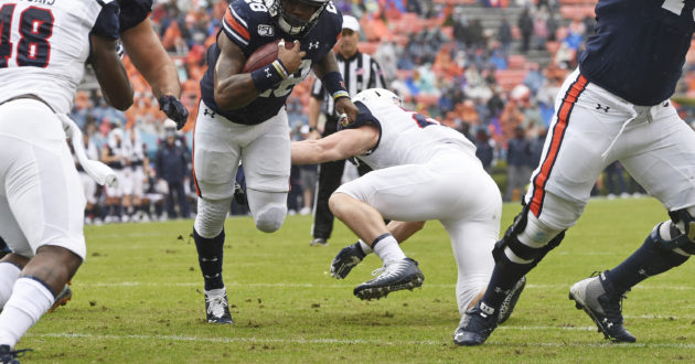 Highlights of Auburn's 52-0 Win Over Samford