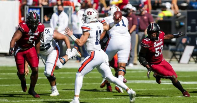 Highlights of Auburn's 30-22 Loss at South Carolina