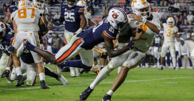 Highlights of Auburn's 30-17 Win Over Tennessee