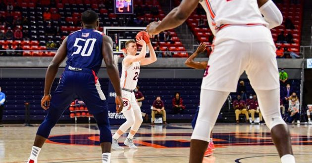 Highlights of Auburn's 90-81 Win Over South Alabama